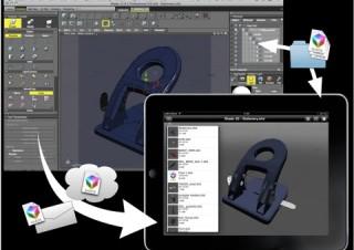 イーフロンティア、ShadeファイルをiPadで確認できるアプリ「Shade 3D mobile」