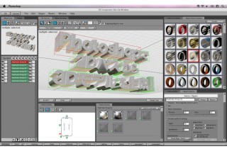 Photoshop用の3Dオブジェクト生成プラグイン「3D Invigorator v5」発売