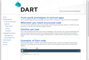 Google、Webアプリ開発用の新プログラミング言語「Dart」を発表