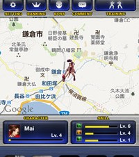 iPhoneでKOFのすれ違い対戦を楽しもう!「THE KING OF FIGHTERS ENCOUNTER」