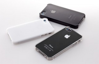 """トリニティ、iPhone 4S対応""""抗菌""""クリスタルカバーセット"""