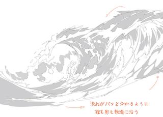 イラスト表現の物理学 爆発+液体+炎+煙+魔法を描く