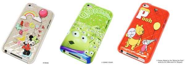 35054ad784 レイ・アウト、ディズニーキャラクターが描かれたiPod touch用ケース ...