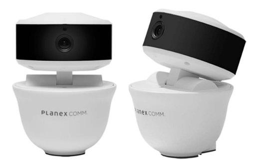 プラネックス、上下左右に首を振ることが可能なネットワークカメラ「スマカメ パンチルト」を発売