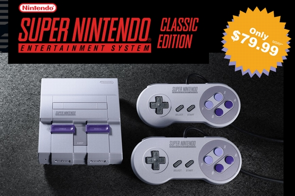 「Super Nintendo Entertainment System (SNES) Classic」