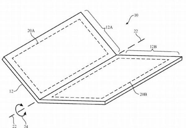 apple 171127170248 - Apple、閉じればiPhone開けばiPadになる折りたたみ式ブックデバイスを開発中か?