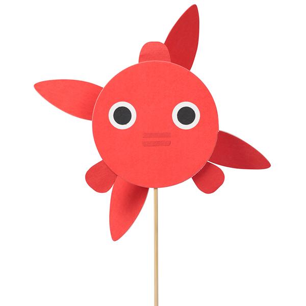 「風ぐるま 金魚」1500円