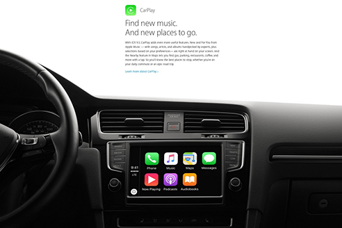 「CarPlay」