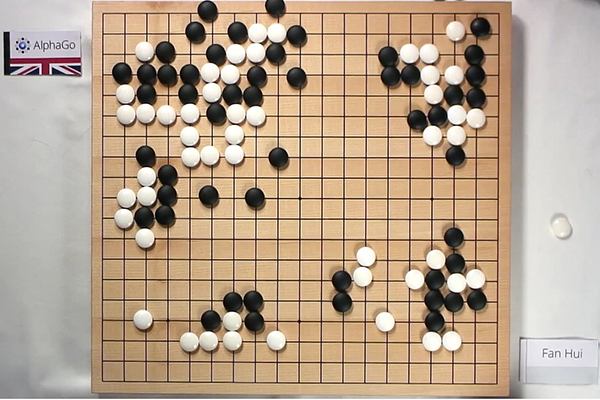 「AlphaGo」VS「Fan Hui」