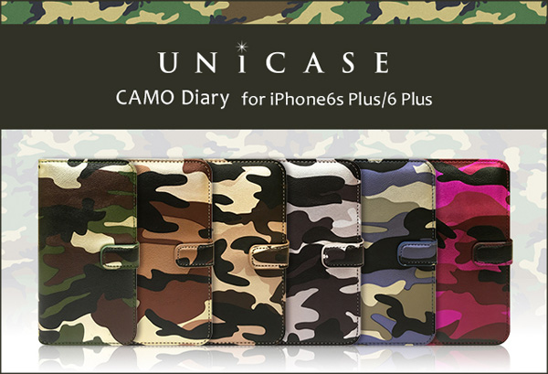 CAMO Diary for iPhone6s Plus/6 Plus