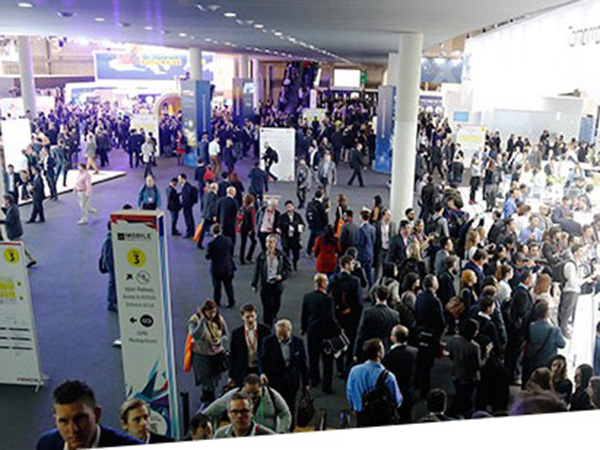 Mobile World Congress(MWC)の様子
