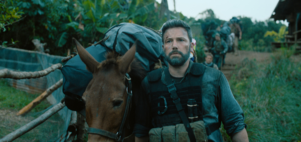 "Netflixオリジナル映画「トリプル・フロンティア」独占配信中 TRIPLE FRONTIER (2019) - pictured Ben Affleck (""Redfly"") Photo Courtesy of Netflix 写真提供:Netflix 写真:Ben Affleck © 2019 Netflix / All Rights Reserved"