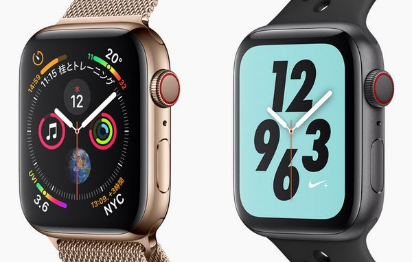 現行モデルのApple Watch Series 4