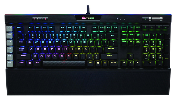 CORSAIR Gaming K95 RGB PLATINUM RAPIDFIRE