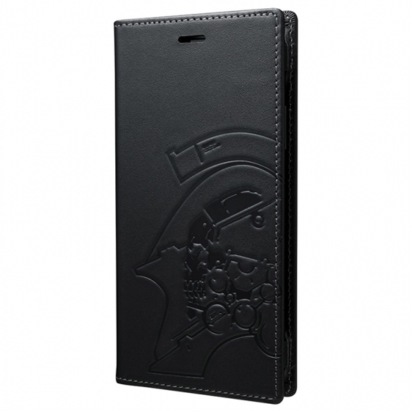GRAMAS Full Leather Case for iPhone X KOJIMA PRODUCTIONS