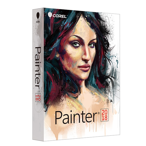 「Corel Painter 2018」パッケージ